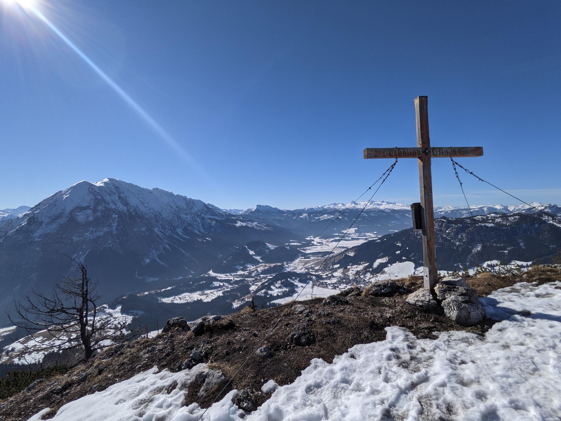 Gwendlingstein Summit Cross