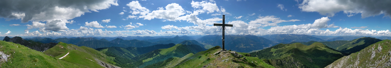 2021-06-26 360 Panorama on the summit